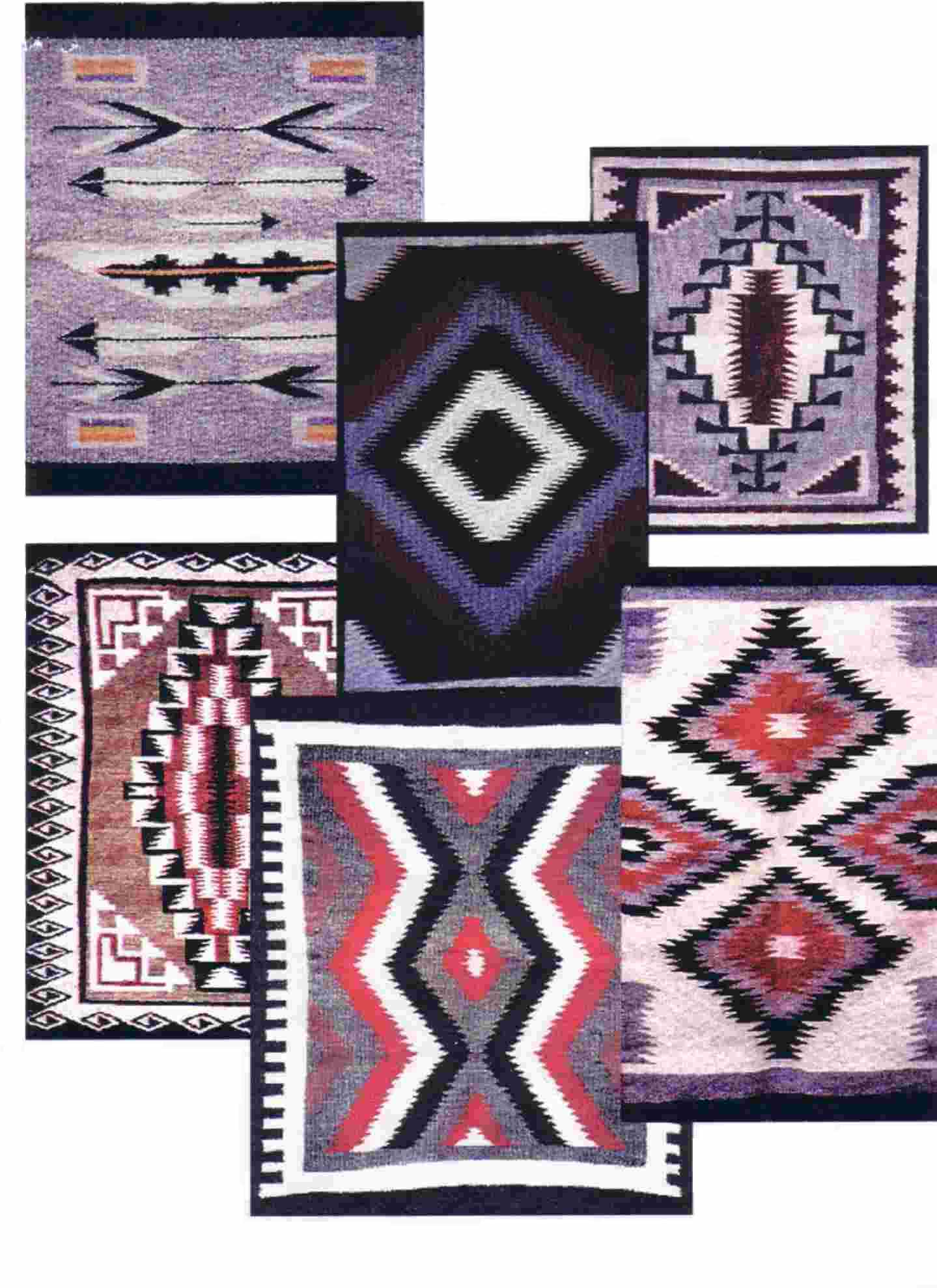 Four Winds Weavers - Designs of Navajo Rugs